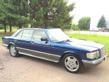 Mercedes-Benz S-Class W126 LONG                                             1987