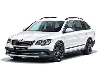 Skoda Superb Combi Outdoor 2014