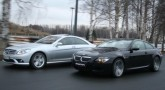 BMW M6 vs Mercedes-Benz CL500. Антиподы