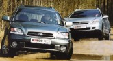 Subaru Legacy Outback vs Citroen C5 Break. Две грани таланта