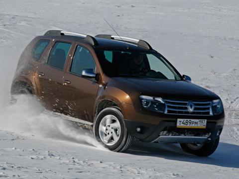 � ���� � �������. ������ ��������� ������ �� ���������� Renault Duster